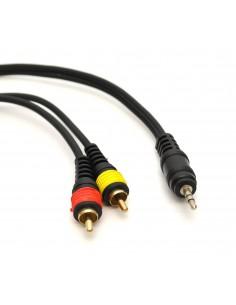 Cablu profesional JACK (3,5mm) - 2xRCA - 1,5m