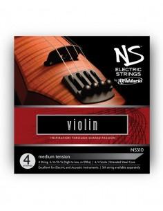Corzi vioara electrica 4/4 D'addario NS310 Electric Medium