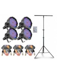 Cameo FlatPAR RGB 10 SET + Stand