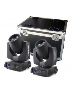 MovingHead Flash FL-200 + Case transport
