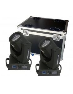 MovingHead Flash FL-202 + Case transport