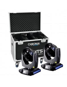 XLights Professional Chroma Hybrid 7R + Case transport