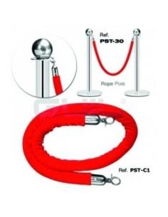 Cordon barieră Guil PST-CT1 - 1.5 m, roșu