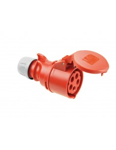 PC ELECTRIC CEE Socket 16A 5pin rd