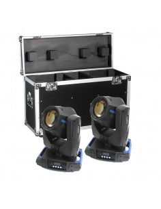 XLights Professional Chroma Hybrid 2R + Case transport