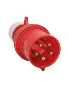 PC ELECTRIC CEE Plug 32A 5pin rd