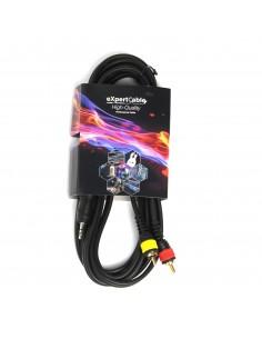 Cablu profesional JACK (3,5mm)  2xRCA - 1.5m