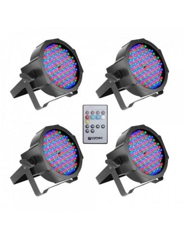 Cameo FlatPAR RGB 10 SET