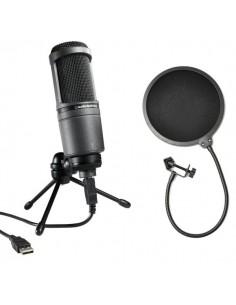 Audio-Technica AT2020usb+ Popfilter Set