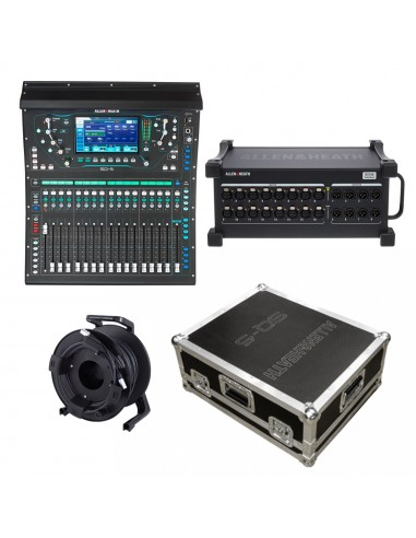 Allen & Heath SQ5, DX168, Case Bundle
