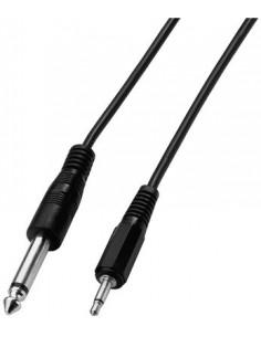 Cablu mono Jack (3,5mm) - Jack (6,3mm) 2m [ACM-2635]