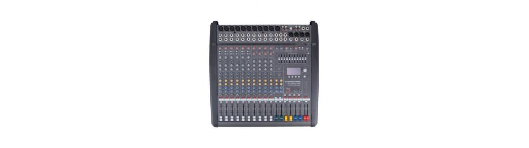 Mixere Amplificate profesionale si pentru amatori