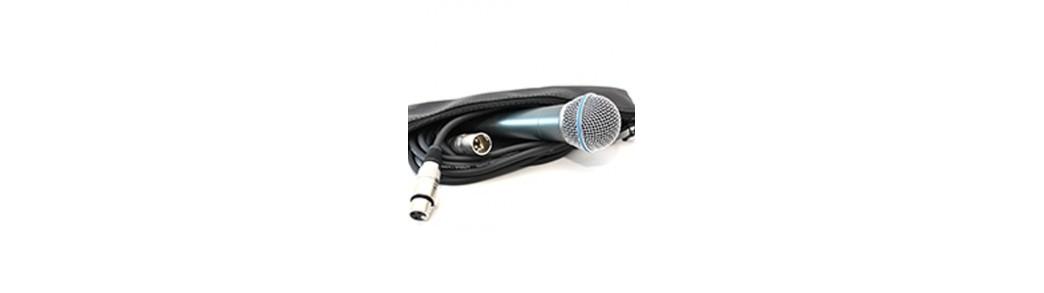 Microfoane cu fir profesionale si pentru amatori,dinamice de voce