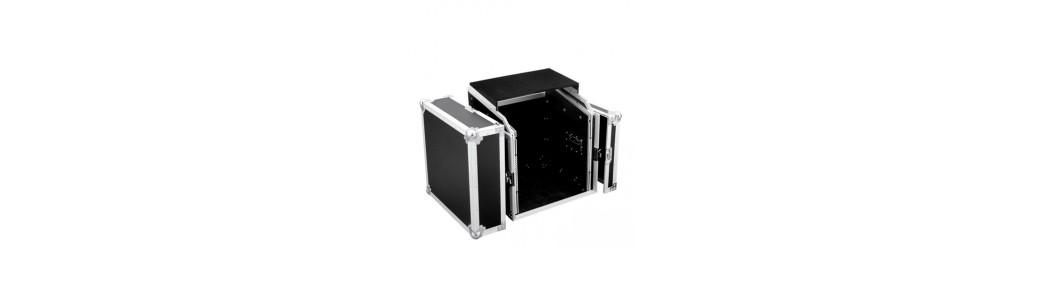 "eXpert Music Suceava - Rack-uri case 19 "" + Mixer atasat"
