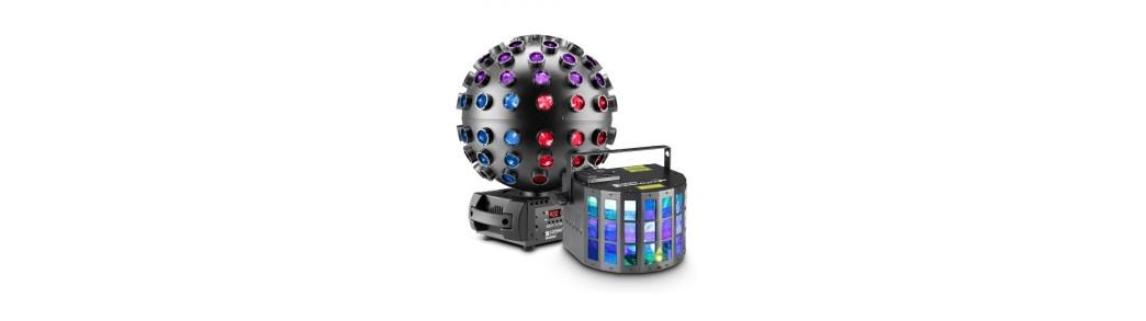 Sisteme lumini profesionale si pentru amatori,efecte inteligente cu led,scanner,moving head,paruri,cu led,disco