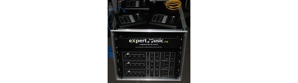Expert Music - Instalatii public adress,sonorizari stadioane,sali conferinta,sonorizari ambientale