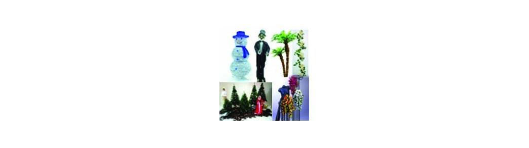 Decoratiuni si accesorii pentru diferite petreceri tematice.